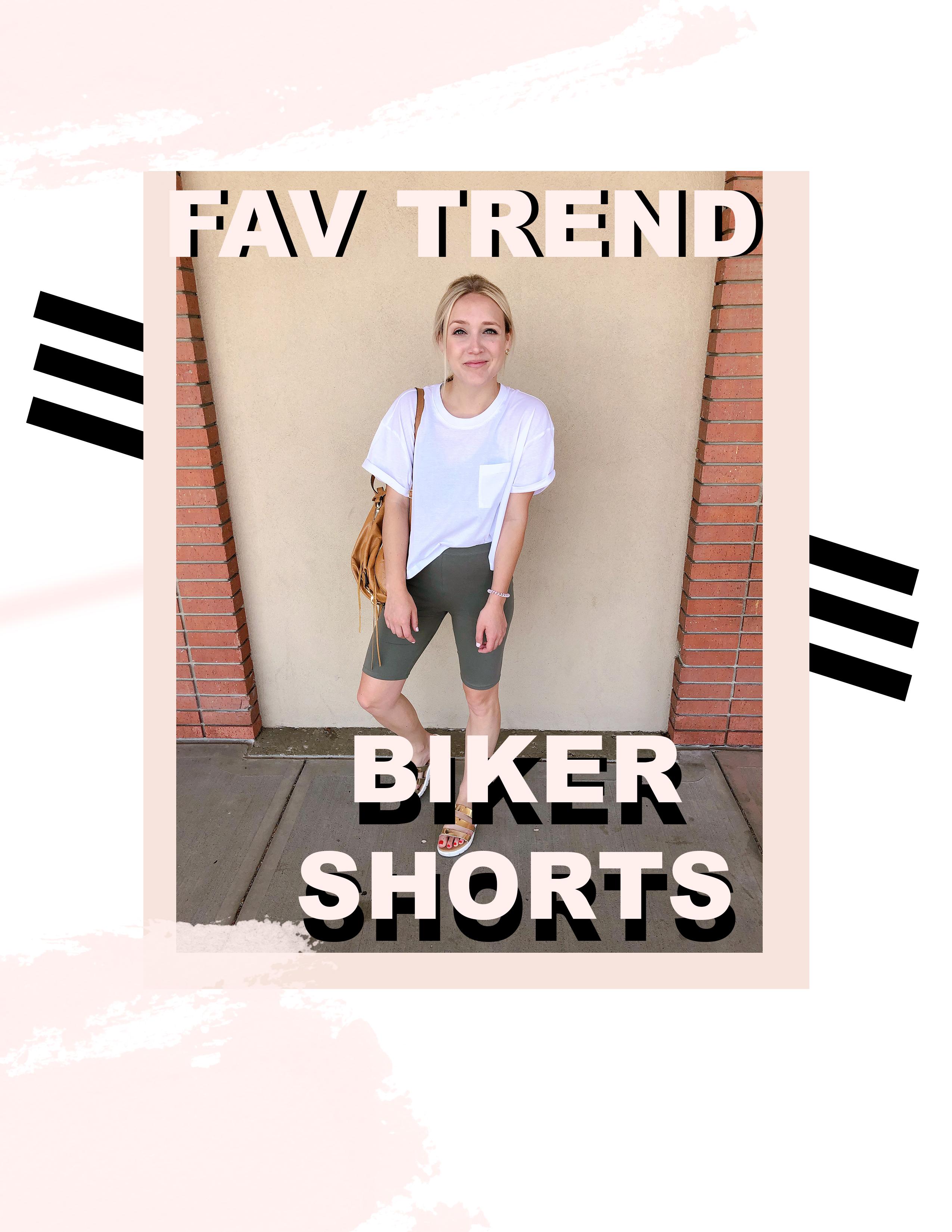 TRENDING- Biker Shorts